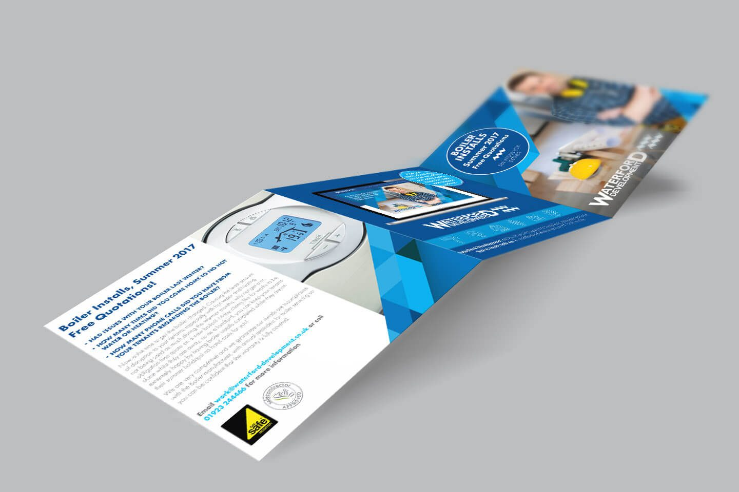 Waterford Case Study Promotional leaflet visual