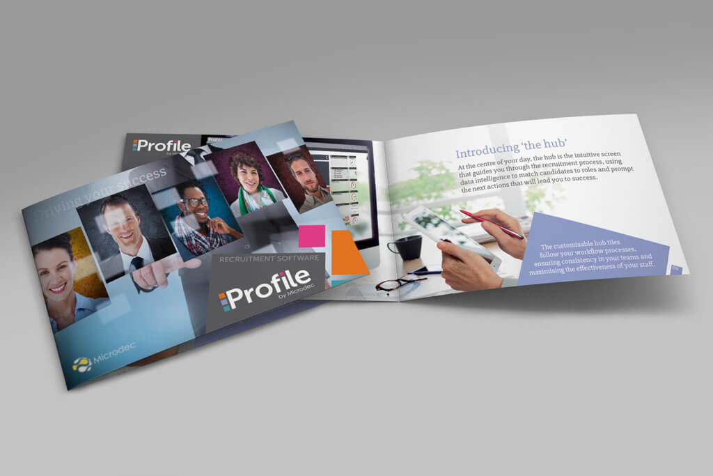 Microdec Profile promotional brochure visual